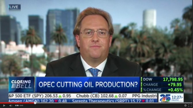 "Rocky Mountain Resources CEO Chad Brownstein Discusses Upcoming OPEC Announcement on CNBC's ""Closing Bell"""