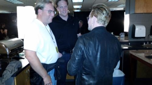 Chad Brownstein chats with Bono from U2