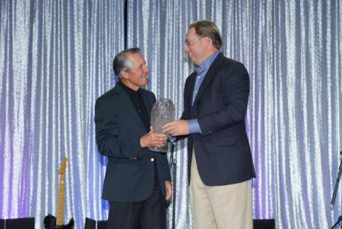 Chad Brownstein with Hall of Fame Golfer Gary Player